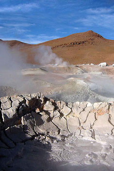 Circuits thematiques en Bolivie : Geysers